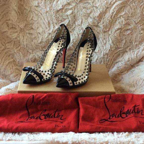 Christian Louboutin Shoes - Christian Louboutin 36.5 New Bille ET Boule 100